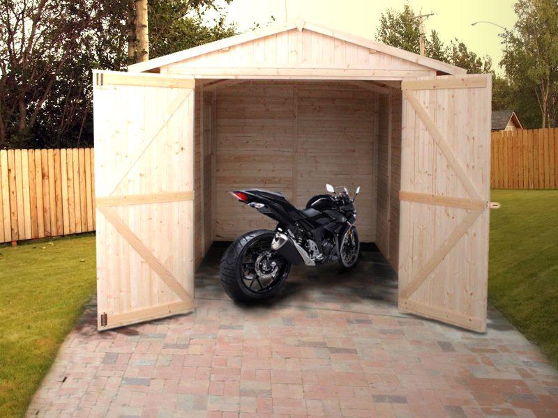 Casette Da Giardino Economiche : Casette da giardino linea economica garage in legno per moto