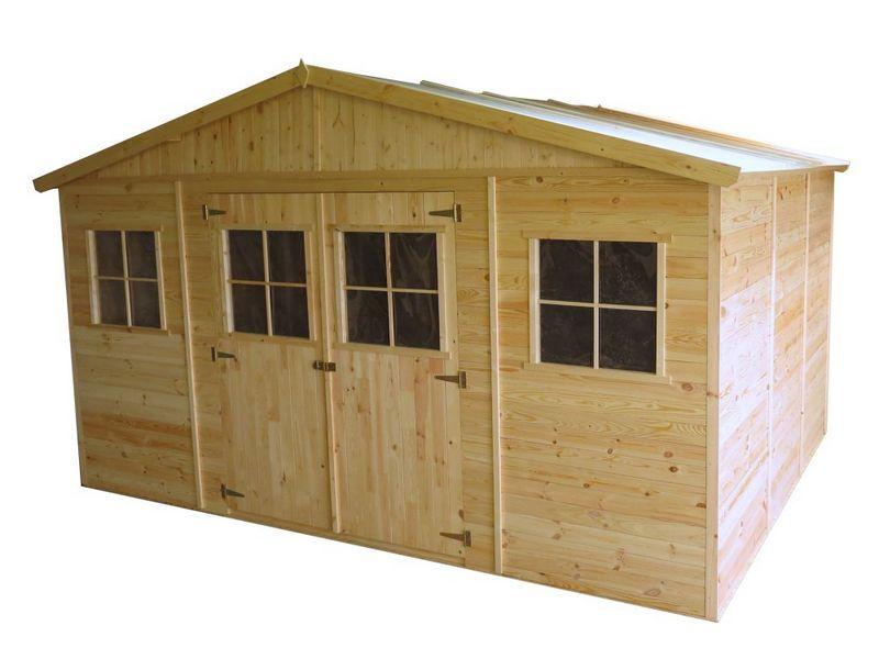 Casette da giardino casetta in legno 400x300x246h cm - Casette in legno da giardino prezzi ...